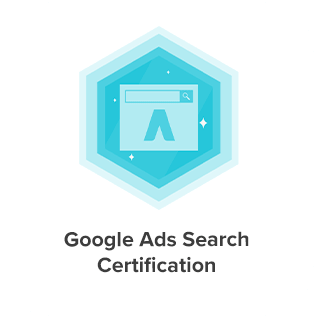 Google Ads Search Certification of Eight Media