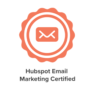 Hubspot Email Marketing Certification of eight media