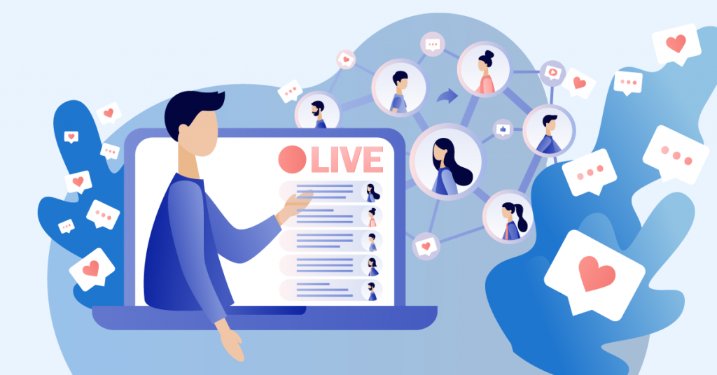 Live streaming content has become a powerful way to connect with your audience