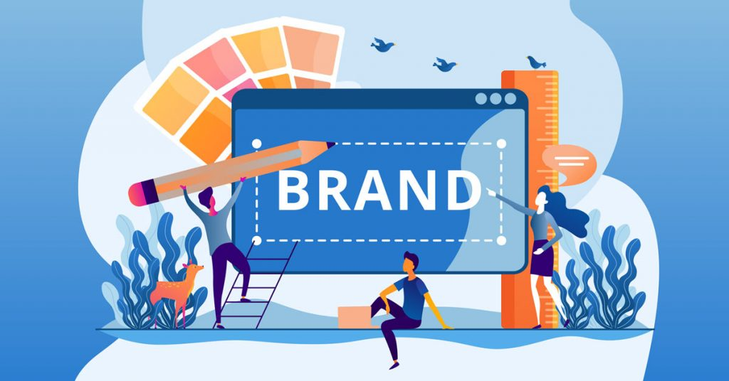 The brand of a business is its overall essence.
