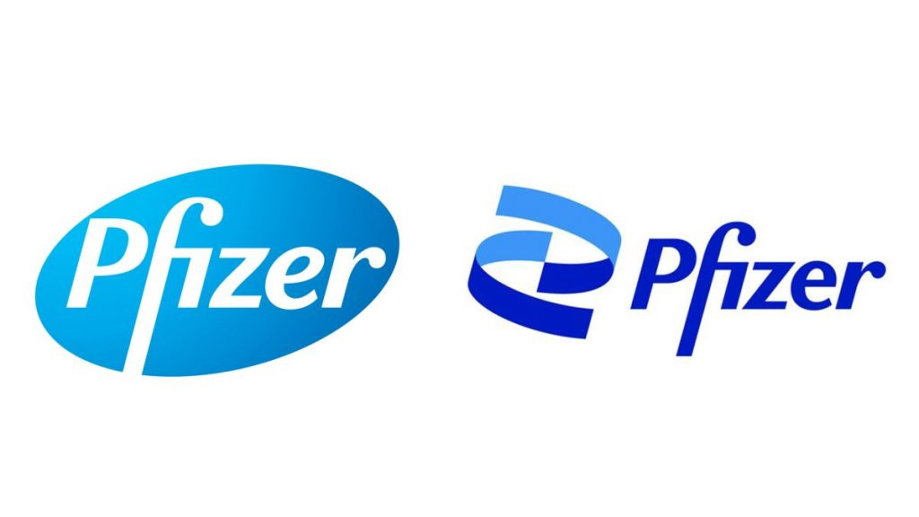 Pfizer unveiled its new brand to be updated and modernized