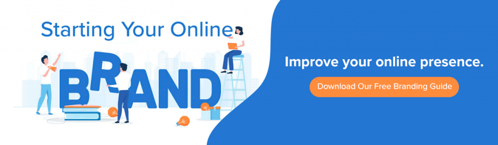 Download our free guide on building your online brand