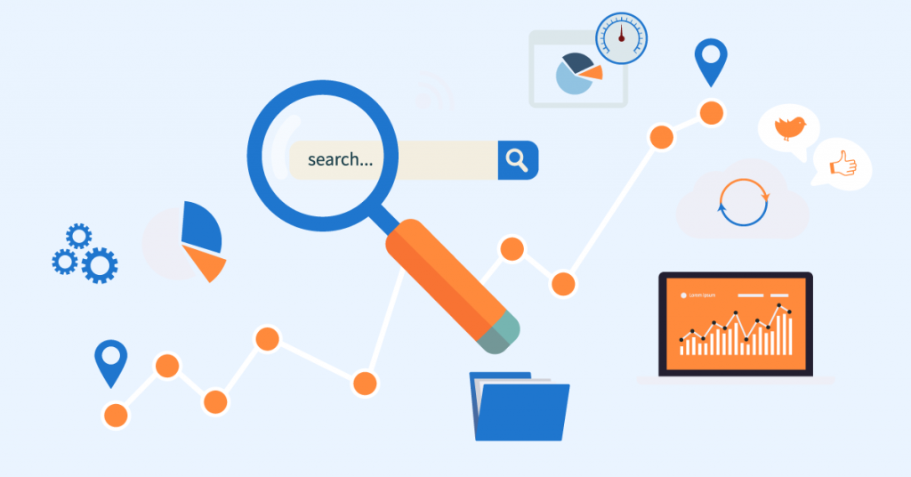 Search engine optimization or SEO is the use of keywords in your website and content to rank for search engines