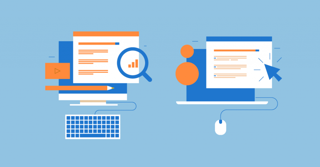 Choose between passive and active online advertising